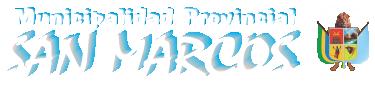 Municipalidad Provincial de San Marcos